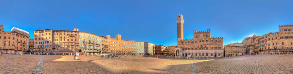 Virtual Tour di Piazza del Campo - Siena